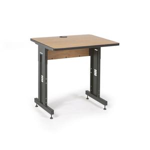 "36"" W x 30"" D Training Table  - Caramel Apple (5500-3-002-33)"