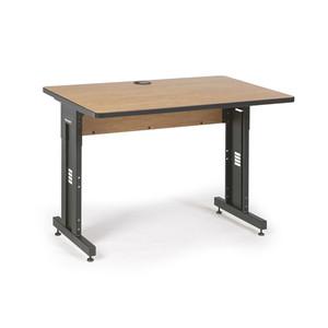 "48"" W x 30"" D Training Table - Caramel Apple (5500-3-002-34)"