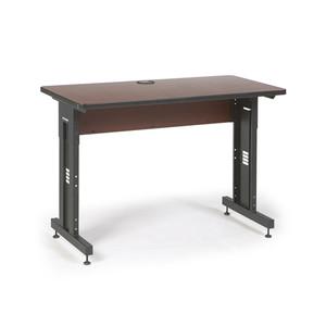 "48"" W x 24"" D Training Table - Serene Cherry (5500-3-003-24)"