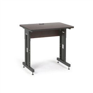 "36"" W x 24"" D Training Table  - African Mahogany (5500-3-004-23)"