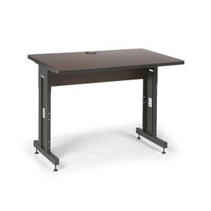 "48"" W x 30"" D Training Table - African Mahogany (5500-3-004-34)"