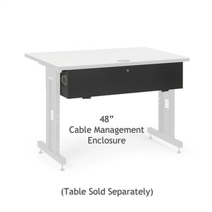 "48"" Training Table Cable Management Enclosure (5500-3-100-48)"