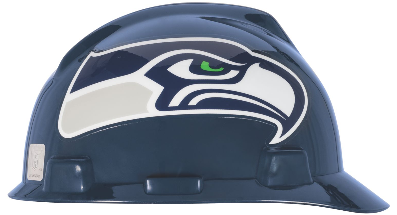 64de0ba7 MSA 818410 NFL V-Gard Protective Caps Seattle Seahawks