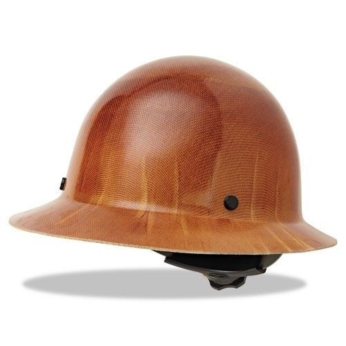 MSA 475407 Skullgard Full Brim Hard Hat with Ratchet Suspension. Price    93.45. Image 1 a4de7ce568ac