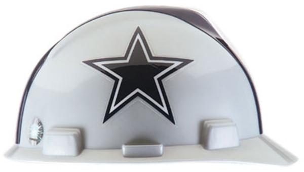 d3e6ab86 MSA 818392 V-Gard Dallas Cowboys Hard Hat (Cap Style)
