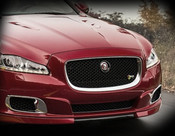 Jaguar XJ Chrome & Black Mesh Grille