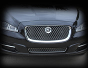 Jaguar XJ & XJR All Chrome Main Grille Replacement (2010-2015 Models)