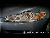Jaguar XF & XFR Chrome Headlight Trim Surrounds (07-2011 models)