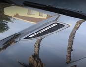 Jaguar F-Type Black Supercharged Mesh Hood Louvers