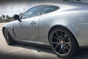 Jaguar XK and XKR Carbon Fiber Rocker Panel Splitter set 2012-