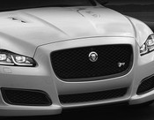 Jaguar XJ & XJR All Black Main Grille Replacement