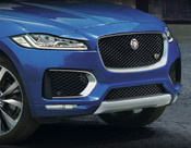 Jaguar F-Pace Chrome / Black Main Grille Replacement