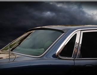 11-15 Fit FOR Jaguar X351 XJ 4D REAR WINDOW ROOF LIP SPOILER WING PUF PAINTED