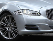 Jaguar XJ 2010-2015 OE RH Bumper Side Grille Replacement w Chrome Splitter
