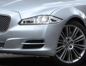 Jaguar XJ 2010-2015 OE LH Bumper Side Grille Replacement w Chrome Splitter