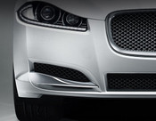 Jaguar XF 2012-2015 OE RH Bumper Side Grille Replacement w Chrome Splitter