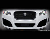 Jaguar XFR Carbon Fiber Front Apron Splitter (2012- Newer)