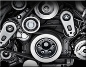 Jaguar XE Lower Supercharger Crankshaft Pulley Upgrade