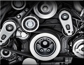 Jaguar XKR Lower Supercharger Crankshaft Pulley Upgrade