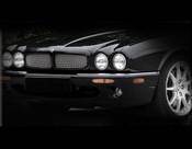 Jaguar XJ8 & XJR Front Mesh Grille Inserts