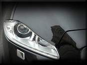 Jaguar XJ Headlight Chrome Surround Finishers
