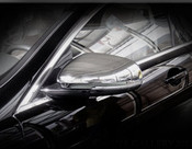 Jaguar XJ Chrome Mirror Cover Finishers