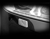 Jaguar XJ Chrome Washer Jet Covers