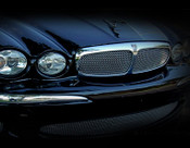 Jaguar X-Type Mesh Grille Insert (Bright stainless or Black)