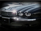 Jaguar X-Type Headlight Lid Covers