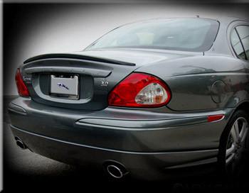 Jaguar X-Type Rear Lip Spoiler