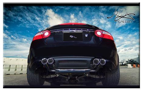 Jaguar XKR Mina Gallery Performance exhaust 2010-2011 models