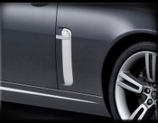 Jaguar XK & XKR Chrome Fender Louver Finisher Set