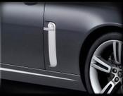 Jaguar XK & XKR Chrome Fender Louver Finisher Set