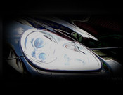 Porsche Cayenne Headlight Trim Surround Finishers 2003-2006