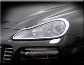 Porsche Cayenne Headlight Trim Surround Finishers 2007-2010