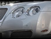 Bentley Flying Spur Chrome Headlight Trim Surround Finishers 03-2009