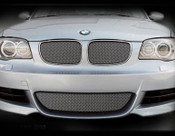 BMW 135 Lower Mesh Grilles (3 pcs) Black or Bright Stainless 09-2013