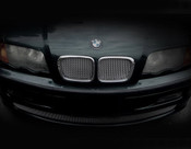 BMW 3 Series Complete Kidney Mesh Grilles  (4 door models) 99-01