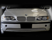 BMW 3 Series Complete Kidney Mesh Grilles  (4 door models) 02-05