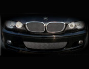 BMW 3 Series w/perf pkg Lower Mesh Grille  (4 door models) 99-05