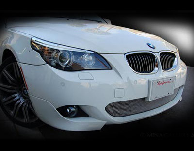 bmw 550 lower mesh grille 2004 2009 mina gallery inc