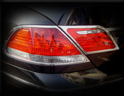 BMW 7 Series; 745  Chrome Taillight Trim Finisher set 2002-2005