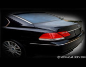 BMW 7 Series; 750 Sport Rear Spoiler 2006-2008
