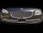 BMW 7 Series; 750 & 740 Complete Mesh Grille Set 2012-2014