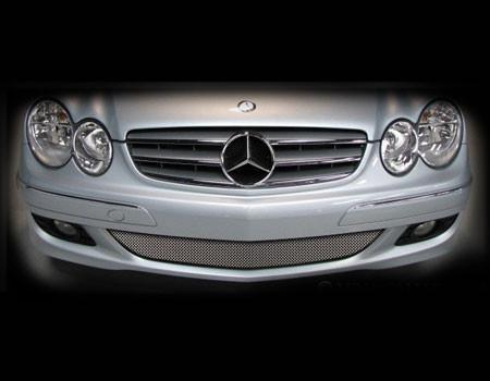 Mercedes CLK Lower Mesh Grille kit 2006-2008