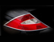 Mercedes CLS Chrome Taillight Trim Finisher set 2008-2011
