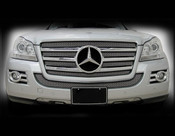 Mercedes GL550 Mesh Overlay Inserts and middle grille 07-09