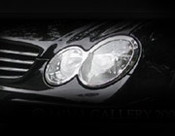 Mercedes SL Headlight Chrome Trim Finisher set  2003-2008