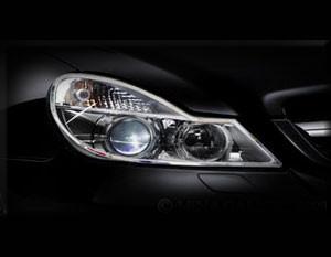 Mercedes SL Headlight Chrome Trim Finisher set 2009-2012