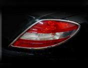 Mercedes SLK Taillight  Chrome Trim Finisher set 2005-2008
